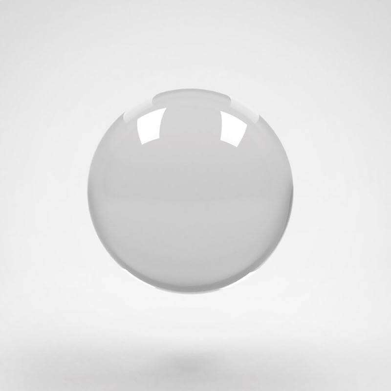 Acrylic Contact Ball 100mm K8 Juggling